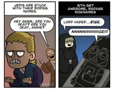 El Lado Obscuro es el Mejor Esta ocasión la gente de Dorkly nos traen una nueva tira sobre las ventajas de escojer el lado obscuro sobre el camino de los Jedis, muchos alguna vez hemos pensado lo mismo, los Jedis simplemente tienen demasiadas reglas, por ejemplo eso de no... #comics #dorkly #humor