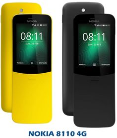 New Nokia Upcoming Smart Feature Phone as Nokia 8110 4G Smart Phone with Good Looking