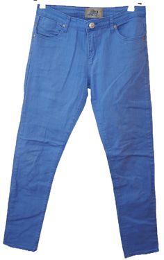 BRUMLA.CZ – Značkový dětský a dospělý second hand a outlet, použité oděvy pro děti a dospělé - Pánské modré riflové kalhoty vel. 32