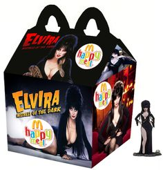 """Elvira: Mistress Of The Dark"" Happy Meal"