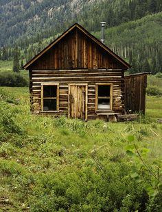 Colorado Cabin by msgeo1965, via Flickr