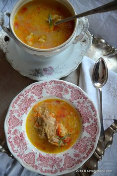 Ciorba de miel cu tarhon reteta ardeleneasca (2)