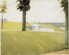 artishardgr:  Edward Hopper - Le Parc de Saint Cloud 1907