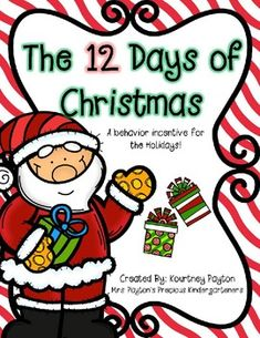 Behavior Incentive for Christmas time Freebie!