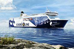 Eckerö Line fährt zweimal täglich von Helsinki nach Tallinn und zurück - http://www.nordicmarketing.de/eckeroe-line/