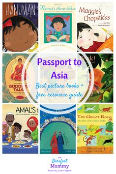 Take kids on a trip to Asia with these picture books. Explore culture, religion, games, animals, and more with books set in India, Afghanistan, China, Thailand, and other Asian countries. Also includes a free resource pack for raising globally conscious kids!