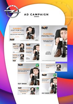 Ad Campaign – Things at your size Advertising, Ads, Banner Design, Banners, Backdrops, Promotion, Presentation, Campaign, Just For You