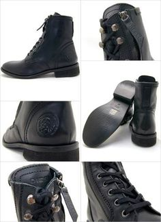208a6349050 Botas Tenis Diesel The Pit Boot Talla 8.5