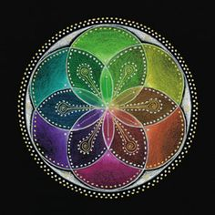 Seed of Life by Laural Virtues Wauters - this would be a pretty tattoo.