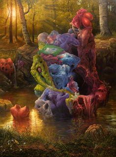 Adrian Cox – Caretakers of a Strange Wilderness – Artist Interview