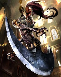 FFVII Ghirofelgo Artist: Mobius Final Fantasy, Final Fantasy Vii, Final Fantasy Artwork, Dark Fantasy Art, Video Game Characters, Fantasy Characters, Character Art, Character Design, Water Nymphs
