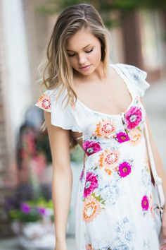 Rosewood Floral Dress – Swoon Boutique