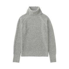WOMEN Cashmere Blend Turtle Neck Sweater (5 colours)-UNIQLOUKOnlinefashionstore