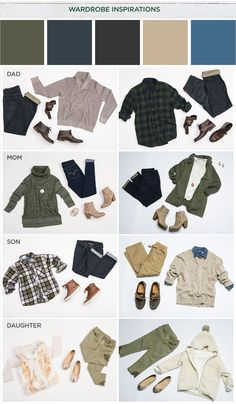 Holiday Home Theme: Wardrobe Inspiration Fall Family Picture Outfits, Fall Family Pictures, Fall Photos, Family Pics, Holiday Photos, Clothing Photography, Family Photography, Photography Outfits, Holiday Photography