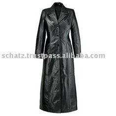 High Qulaity Women's Black Leather Long Coat | Buy Now High Qulaity Women's Black Leather Long Coat and get big discounts | High Qulaity Women's Black Leather Long Coat Special Offer | High Qulaity Women's Black Leather Long CoatCheap Manufacturers  # #BestProduct