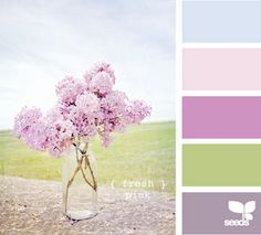 I have been looking for a palette like this for my bedroom, something with blue and purple. :)