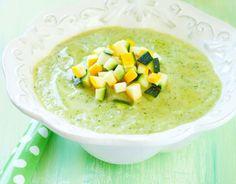 Crema di zucchini e sogliola per svezzamento 7 mesi | Mamma Felice