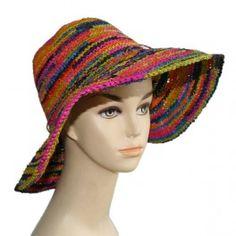 Capeline crochet naturel