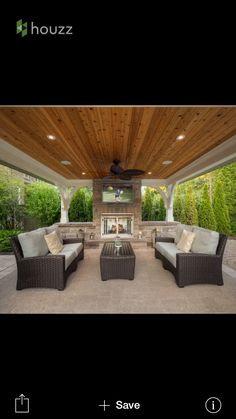 Covered Patio With Sliding Mosquito Screens | House Ideas | Pinterest |  Patios And Screens