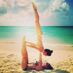 24 best 2person asanas images in 2014  acro yoga poses