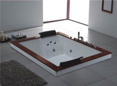 jacuzzi bathtubs for two; another head to feet design; but a much better one. - Bing Images