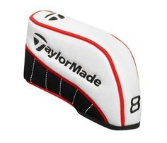 TaylorMade TM Irons Headcovers Set (4-P, X), White by TaylorMade. $45.95. TaylorMade Golf White Iron Set Headcovers Soft Protection For Valuable Gear TaylorMade White Iron Set Headcovers features: Constructed of semi-perforated synthetic PU with nubuck accents Polyester ribbed sock provides optimum club protection Iron # designation Includes 4-P, X & Putter blade Embroidered T-bug and TaylorMade logos TaylorMade Golf... First In Function. First In Design. No Compromises.