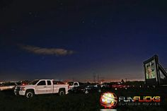 Yes... It's baaaack!  Drive-in Movies near you!  Host your own with FunFlicks!