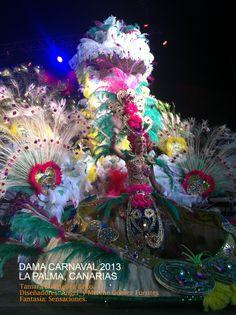DAMA CARNAVAL LA PALMA 2013