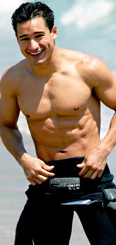 The Mario Lopez Workout Six Pack Abs Men, Six Abs, Mario, Celebrity Workout, Celebrity Fitness, Celebrity Bodies, Body Shots, Circuit Training, Workout Regimen