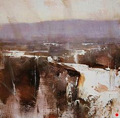 Winter Impression by Tibor Nagy Oil ~ 8 x 8