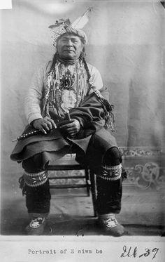 E-niwa-be - Ojibwa - 1911