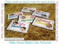 Guided Reading Flip Books!  Over 120 different sound spellings to flip through in your groups.
