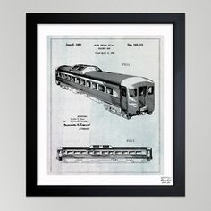 Railway Car 1951, $95, now featured on Fab.