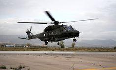 Arrival of 10th ΝΗ-90 TGRA at Megara LGMG Army Airport