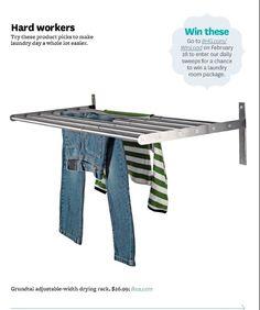 Grundtal drying rack wall stainless steel drying racks for Ikea rack mount