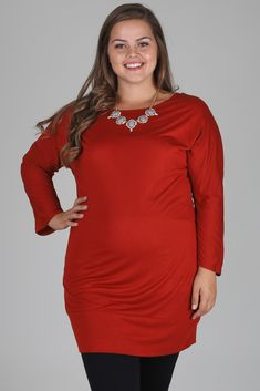 Rust-Basic-Dolman-Long-Sleeve-Plus-Size-Maternity-Top #pinkblush #maternityfashion #maternityonlineretail #expectantmothergifts #plussizematernitywear