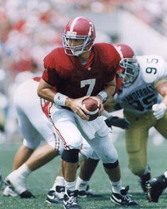 Jay Barker ... my all-time favorite Bama QB