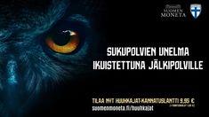 Tänä kesänä tehdään historiaa, kun Suomen miesten jalkapallomaajoukkue eli Huuhkajat on ensi kertaa mukana EM-lopputurnauksessa. Matka arvokisoihin on ollut pitkä. Se on kestänyt 80 vuotta – kokonaisen ihmiselämän. Pian odotus päättyy, kun turnaus pyörähtää käyntiin. Kruunaa Huuhkajien EM-kisapaikka komealla kannatuslantilla. Samalla kunnioitat suomalaisen jalkapalloilun historiallista saavutusta, joka teki sukupolvien unelmasta totta. #oisuomion #meolemmesuomi #huuhkajat #kannustanhuuhkajia Monet, Movie Posters, Historia, Film Poster, Billboard, Film Posters