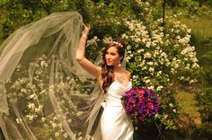 Stunning bride I photographed in MO last year.  ©danaustinphotography