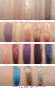 MAC Paint Pot Swatches