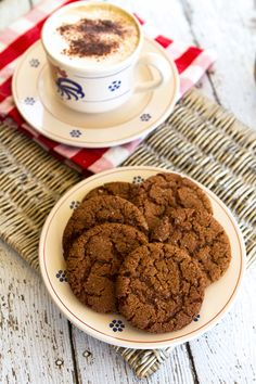 Chewy Ginger Cookies from Italian Food Forever