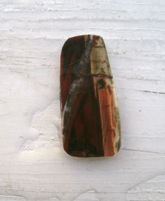 Petrified Wood Cabuchon - preform cabuchon untreated wire wrapping stones fossils Petrified wood collectors gift jewelry agates OOAK