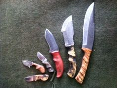 Some knives I've made