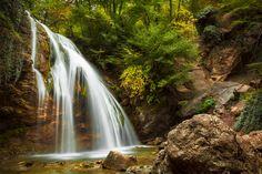 Waterfall (Crimea) by Irene Mei