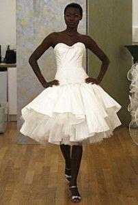 short, ballerina style dress