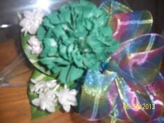 Rainbow Ribbon Wedding Floral Corsage with by NAESBARGINBASEMENT, $17.99