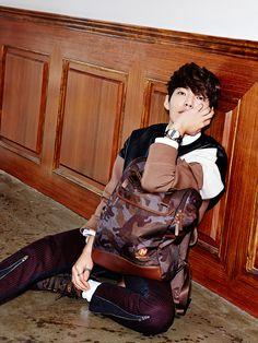 Kim Woo Bin - High Cut Magazine Vol.117