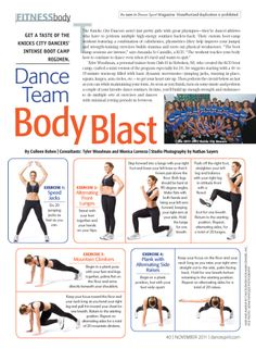 Dance Team Body Blast Pt. 1 from Dance Spirit Magazine