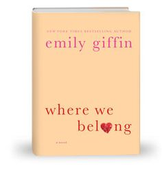I know. Another Emily Giffin book. I'm a sucker for her heartwarming plot lines. This one follows a women whose past comes back to possibly ruin what looks like a perfect life. But, of course, it's not a perfect life. One little secret turns her world around and shows her what she has been missing out on - being honest.