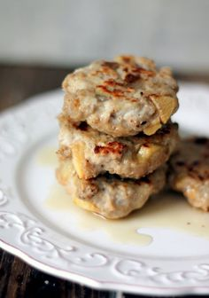 Lean Turkey Apple & Maple Sausage Breakfast Patties @FoodBlogs